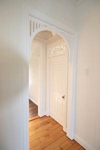 hallway detailed archway
