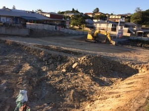 carpark earthworks construction