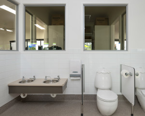 34 childrens toilets + basins