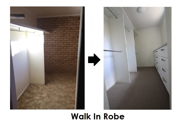 robe renovation