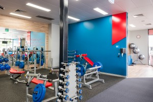Gym fitout builder brisbane Vati Projects