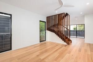 Natural timber flooring